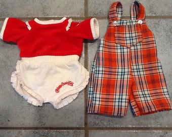 Cabbage  patch kids 2 overalls