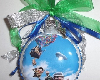 UP inspired Tribute Christmas Ornament