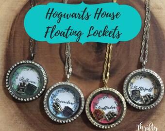 Hogwarts House Floating Locket