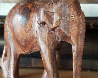 Little Wooden Elephant