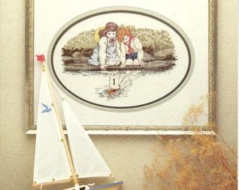 Window Sill Shells and Summer Reflections Cross Stitch Charts