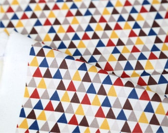 Cotton Fabric Triangle By The Yard
