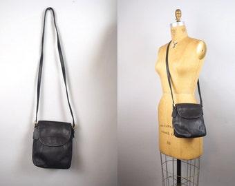 Coach SOHO bag | vintage Coach bag | black leather saddle bag