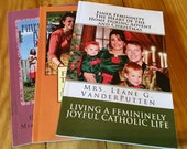 All 3 Maglets! Sunshiny Disposition, True Womanhood and Advent/Christmas Finer Femininity Magazine Booklet Package of 3! Free US Shipping!
