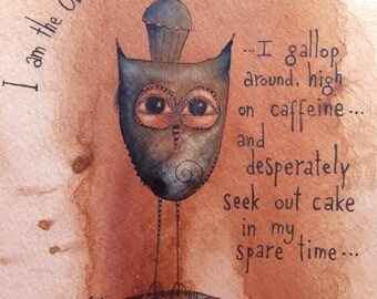 The Owl Of Coffee