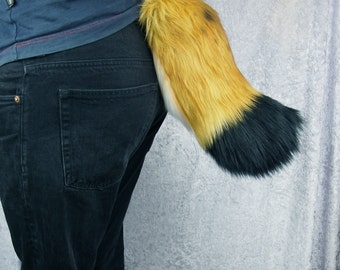 Lynx Tail - Furry, Fursuit Tail, Lynx Cosplay, Cat Costume, Made to Order