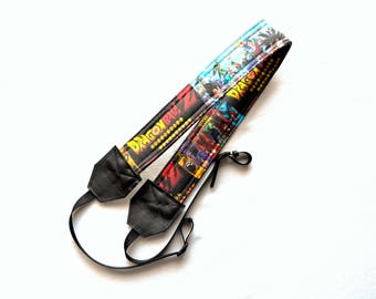 Dragon Ball Z  dSLR Camera Strap! This is a full strap not a cover! Standard Size!