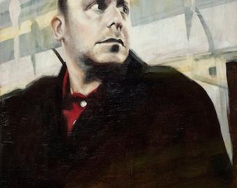 Steve 2, an original oil painting