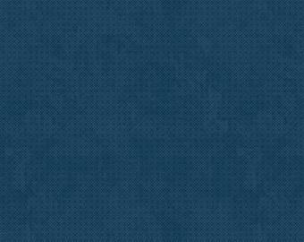 Criss-Cross Fabric in Winter Navy, Essentials from Wilmington Prints