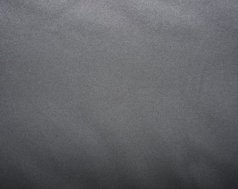 Fabric - cotton sweatshirt jersey fabric - charcoal
