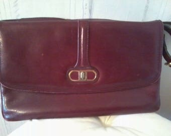 Bag vintage leather bags vintage 1980