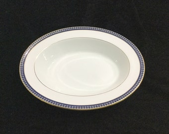 Aynsley made in England Twilight Fine English Bone China Oval Serving Bowl