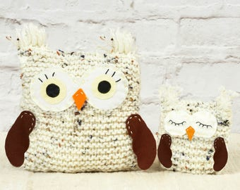 Woolly Owls - Learn to Knit Kit