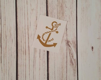 Anchor Rope decal