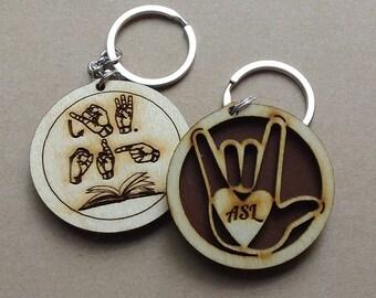 ASL/JW.org Key chain