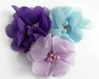 Dog collar flowers, Dog accessory, pet accessories, dog collar, dog collar bling, collar Flower, Wedding Dog Flower, Bows for Dog, Dog Bow