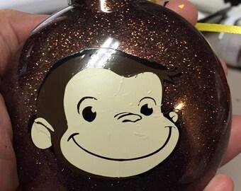 Curious George Christmas Ornament