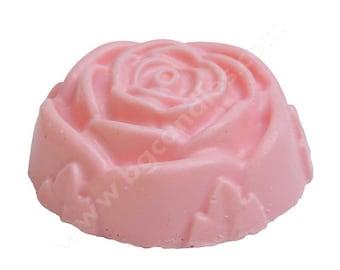 ROSE Shea Butter Soap, Bar Soap, Rose Soap, Pink Soap, Wedding Favors, Shea Butter Soap, Natural Soap, MagicalCandlesFL