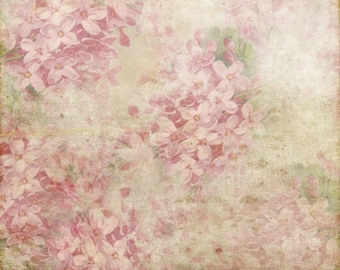 Vintage Floral Photography Backdrop, Newborns photobooth vinyl photo background, grunge flowers wall photography photodrops XT-5659