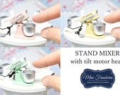 Stand Mixer NEW Collection -handmade Dollhouse 1:12 scale realistic kitchen appliance
