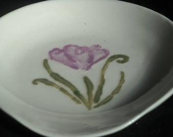 Porcelain Spoon Rest - Wheel Thrown