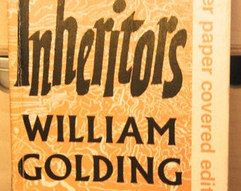 William Golding Novel - The Inheritors - Faber Paper Covered Editions