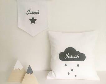 Personalised Cloud Cushion
