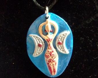 Moon Time Goddess Pendant