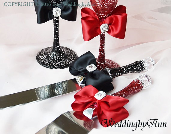 black wedding cake serving set burgundy and black wedding cake serving set wedding cake and 11883