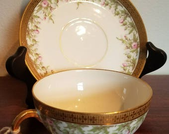 M.Roden Limoges Tea cup and Saucer