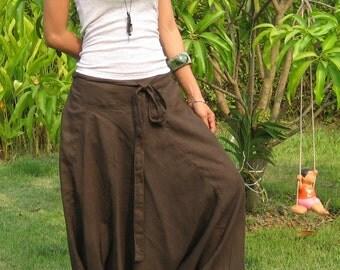 Harem Pants Women Baggy Pants Aladdin Yoga Pants Harem Baggy Pants Men Gypsy Pants Harem Boho Pants * HL - choco