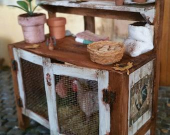 Chicken Coop in miniature