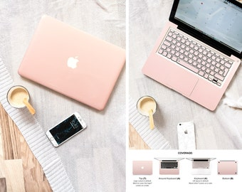 Macbook Skin Rose Gold Ombre Keyboard stickers Skin Macbook Pro Skin Macbook Air Skin Macbook Cover Macbook Decal Macbook #Rose Gold Ombre