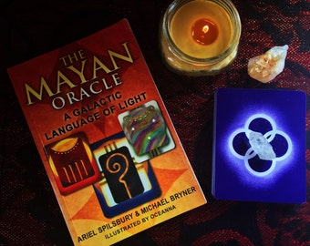 Mayan Oracle Reading, Oracle Card Reading, Star Language Reading, Divination