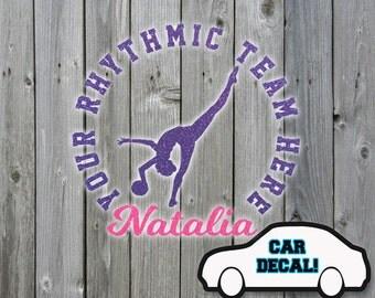 Car Decal Rhythmic Ball