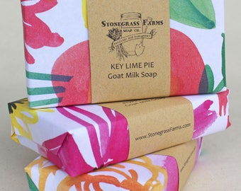 Birthday Gift for Her - Birthday Gift Set - Soap Set - Soap Gift Set - Wrapped Soap - Variety of 3 Bar Soaps