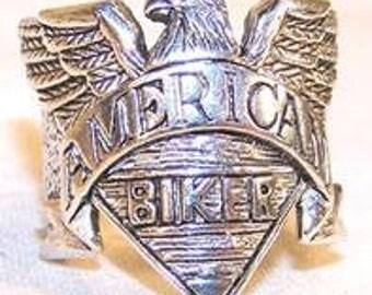 American Bikier Ring / Heavy