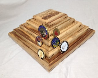 Challenge Coin Display, Coin Rack, Coin Display, Military Challenge Coins Display
