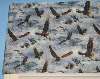 100%  Handmade Flying Eagle Window  Curtain Valance