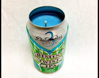 Rain Water Scent Beer Can CANdle