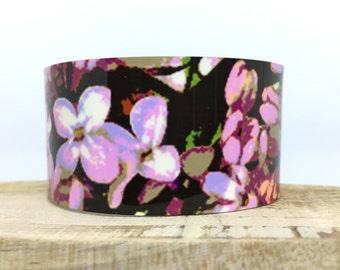 Cuff Bracelet -Lilacs-