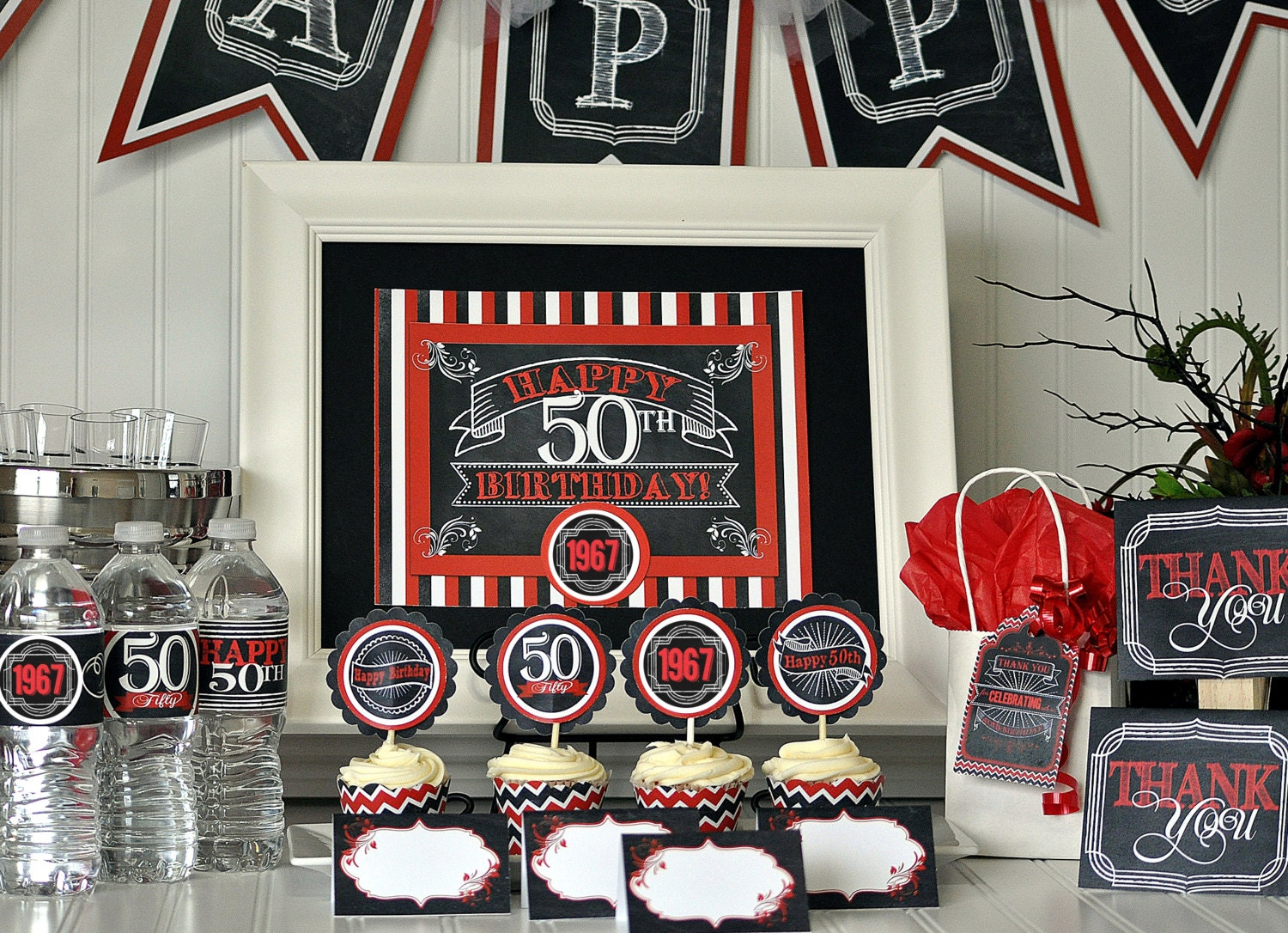 50th birthday party package 50th birthday decorations 50th for 50th birthday party decoration