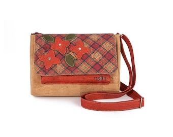 Vegan Cork Handbag, Eco Friendly and Ethical Cork Bag - PARIS