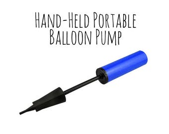 Plastic Balloon Pump, Portable Balloon Pump to Blow Up Balloons, Air Fill Balloons, Party Decorations, Wedding Supply, Birthday Decoration