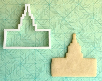 Idaho Falls Temple cookie cutter