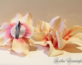 Hair flower / flowers Hairclip