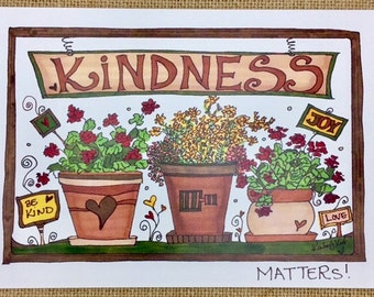 Kindness Matters (Greeting Card)