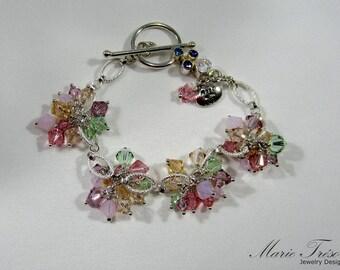 Tenderness Swarovski crystal bracelet