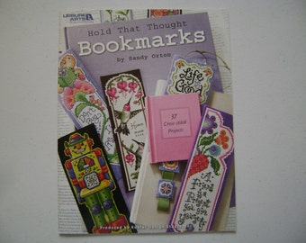 Hold That Thought Bookmarks Instruction Book