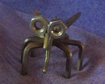 Bug. Recycled. Upcycle. Metal. Outdoor. Indoor. Decor. Yard art. Wrench. Gift.